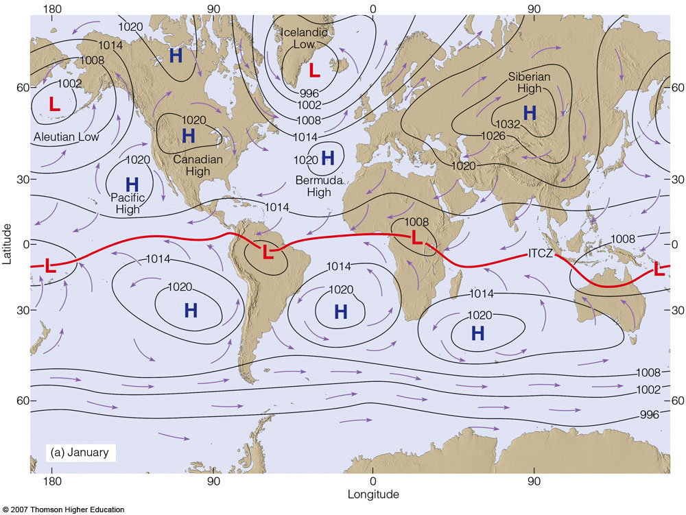 Ahrens0722ag mslp and surface winds for january publicscrutiny Images